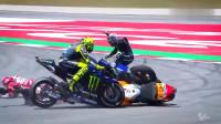 MotoGP高燃混剪,碰撞与摔车,致敬真正的速度勇士