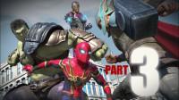 牛人自制3D短片:蜘蛛侠大战钢铁侠、绿巨人、雷神