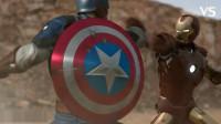 牛人自制3D短片:钢铁侠大战美国队长