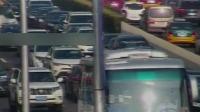 安贞桥西 西向东 两车事故 红绿灯—平安行 20190718 高清