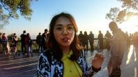 实拍广州白云山观景台,羊城八景之一的白云晚望,实在太美了!