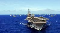 美航母刚接近海峡,雷达屏幕就出现异常,白宫:实力今非昔比
