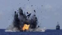 警告意味十足,伊朗在美军面前动手,导弹命中大批石油巨轮