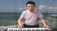 惜别的海岸 电子琴独奏20190718