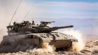 以色列坦克为保护成员出奇招,装甲不够发动机来凑