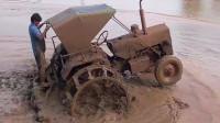 拖拉机耕田,硬是给开出了跑车的感觉