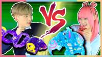 谁能获得特别礼物?凯文VS星德拉的魔幻车神大对决 | 凯利和玩具朋友们 CarrieAndToys