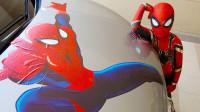 太奇妙!萌宝小正太怎么变成蜘蛛侠了?还变成了哪些超级英雄呢?儿童亲子游戏玩具故事