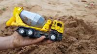 很好的玩具建筑车辆寻找汽车在动力学和儿童玩具中
