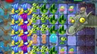植物大战僵尸2儿童小游戏234:僵尸博士长成这个样!熊孩子游戏