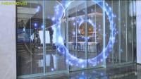 NEXNOVO晶泓科技-深圳益田移动门透明LED显示屏项目