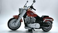 搭建乐高创意高手12069 哈雷戴维森肥仔摩托车