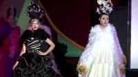 巴黎时装周高级时装秀,华丽的礼服,一般人穿不出这种美感!