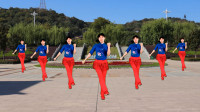 益馨广场舞《给我几秒钟》自由弹跳16步,简单,快乐,附分解教学