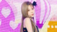 女团fromis9回归音乐中心新舞台,元气值爆表的甜美少女