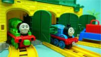 托马斯小火车小小火车站轨道儿童玩具