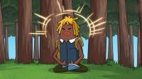 搞笑吃鸡动画:为了战胜大魔王,马可波想到一个玄学的办法,结果还真成功了