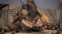 黑色幽默动画,美女辛苦打造的机器人,原来是为了拯救自己!