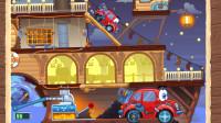 小汽车冒险游戏:蒸气发动机船