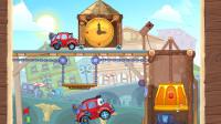 小汽车冒险游戏:神奇的大钟