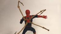 手工师用铁丝和粘土制作了一个钢铁蜘蛛侠,这技术你给打几分?