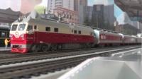 我的火车模型:K783次列车。