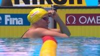 100米蝶泳半决赛-舍斯特伦优势明显,张雨霏无缘决赛 游泳世锦赛 多项半决赛决赛 66