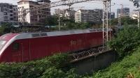HXD1D0178武局南段K529杭州-成都东通过欣园18:06