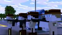 我的世界动画-停不下来的火车-CraftyFoxe