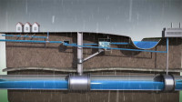 德国城市排水系统有多强?看完3D动画演示后,我默默竖起大拇指