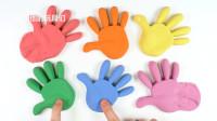 动力沙土玩具制作彩色彩虹手