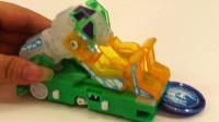 爆裂飞车冰封雪晶片变形玩具