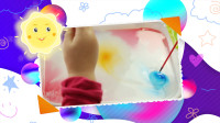 水中作画!感受浮水画的神奇时刻!