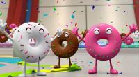 甜甜圈竞技比赛,嗨翻天,怕游泳的参赛者最后得了冠军