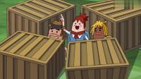 搞笑吃鸡动画:空投砸脸幸福来得太突然,不过接下来发生的事太尴尬了!