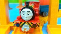 托马斯和朋友之维多在蒸汽火车修理店基础套装 合金小火车玩具