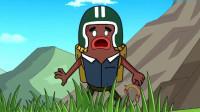 搞笑吃鸡动画:马可波捡到神器弹弓就以为天下无敌?你确定不是在搞笑吗