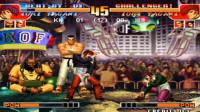 拳皇97:K神VS河池-车轮老K的抢12大对决190718