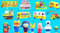 小企鹅啵乐乐的各种玩具大集合
