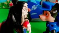 少儿益智亲子玩具:怪兽吃了女巫的温柔蛋糕,小砾撞到他都不计较