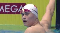 实力担当!中国名将孙杨以半决赛第二名身份晋级200米自由泳决赛 2019 FINA游泳世锦赛 74