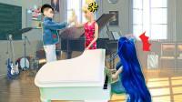 叶罗丽故事 陈思思钢琴课迟到被打 高泰明出手阻止 莫名很解气