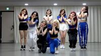 女团fromis9回归后续舞蹈练习,元气满满的少女们,私服也好看