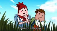 """搞笑吃鸡动画:萌妹亲眼见识""""苟大师""""境界后大彻大悟,原来想赢如此简单"""