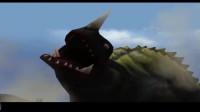 终极奥特曼战斗:怪兽大作战 巴尔坦星人VS鲨鱼怪