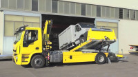 3辆难得一见的拖车,国外机械太先进!