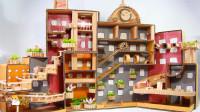 如何用纸板给可爱的仓鼠DIY巨大的城市迷宫?