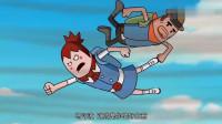 搞笑吃鸡动画:霸哥和萌妹卡进BUG,两人双双被卷飞上天,变成了活靶子!