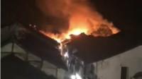 乌镇一处房屋发生火灾:建筑物为两层,暂无人员伤亡