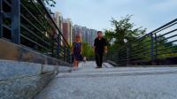 吃过晚饭和妈妈去散步,郫县的生态环境还是不错,边聊天边看风景